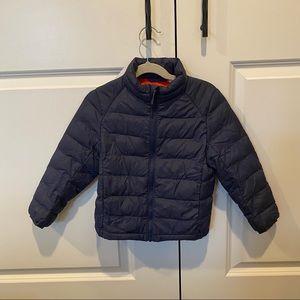 Uniqlo Kids Puffer Jacket Navy Size 3-4
